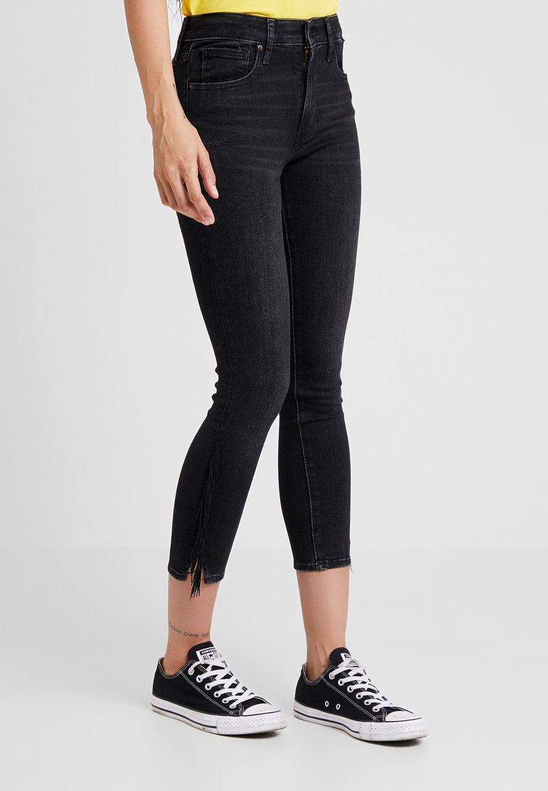 Levi's® - 721 HIRISE FRINGE ANKLE - Jeans Skinny Fit - don't give a fringe