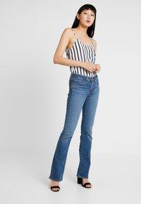 Levi's® - 715 BOOTCUT - Jeans bootcut - los angeles sun - 1