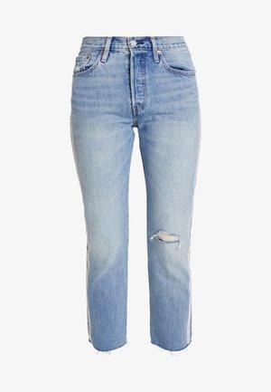 501® CROP DIAMOND IN THE ROUGH 501 CROP - Straight leg jeans - rough 501 crop