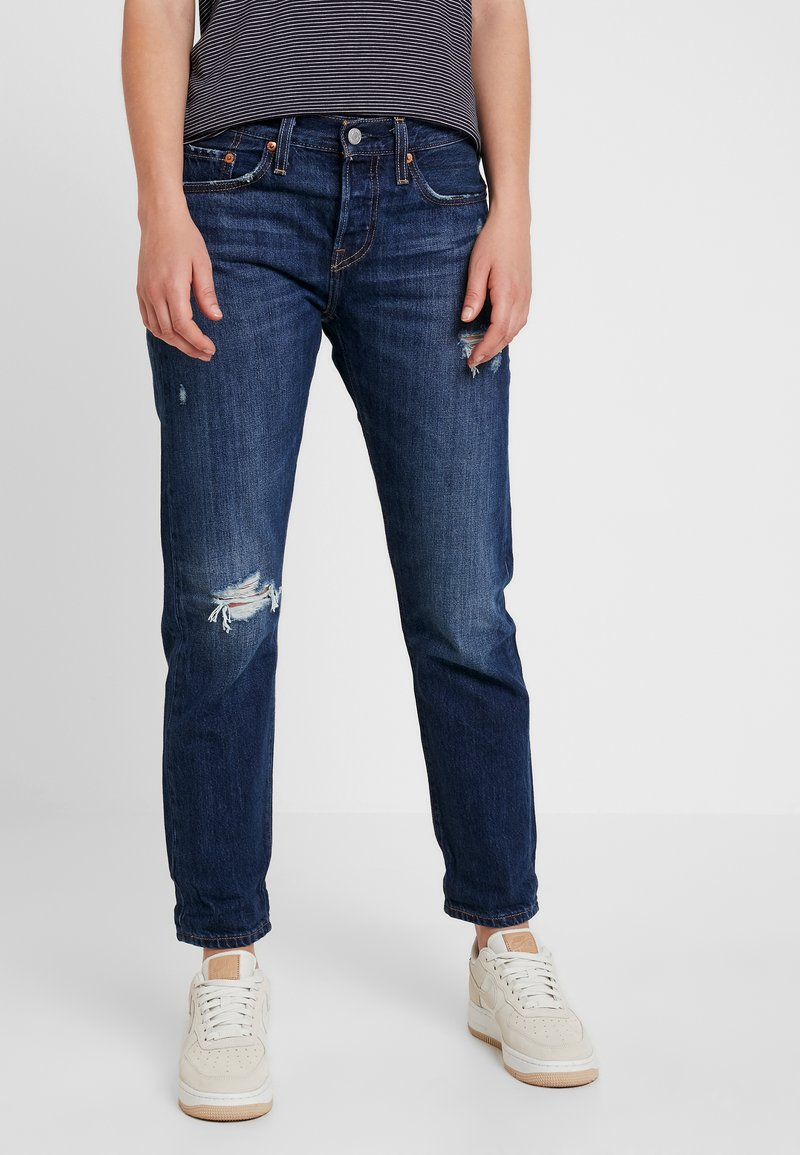 Levi's® - 501® TAPER - Jeansy Straight Leg - bolt blue