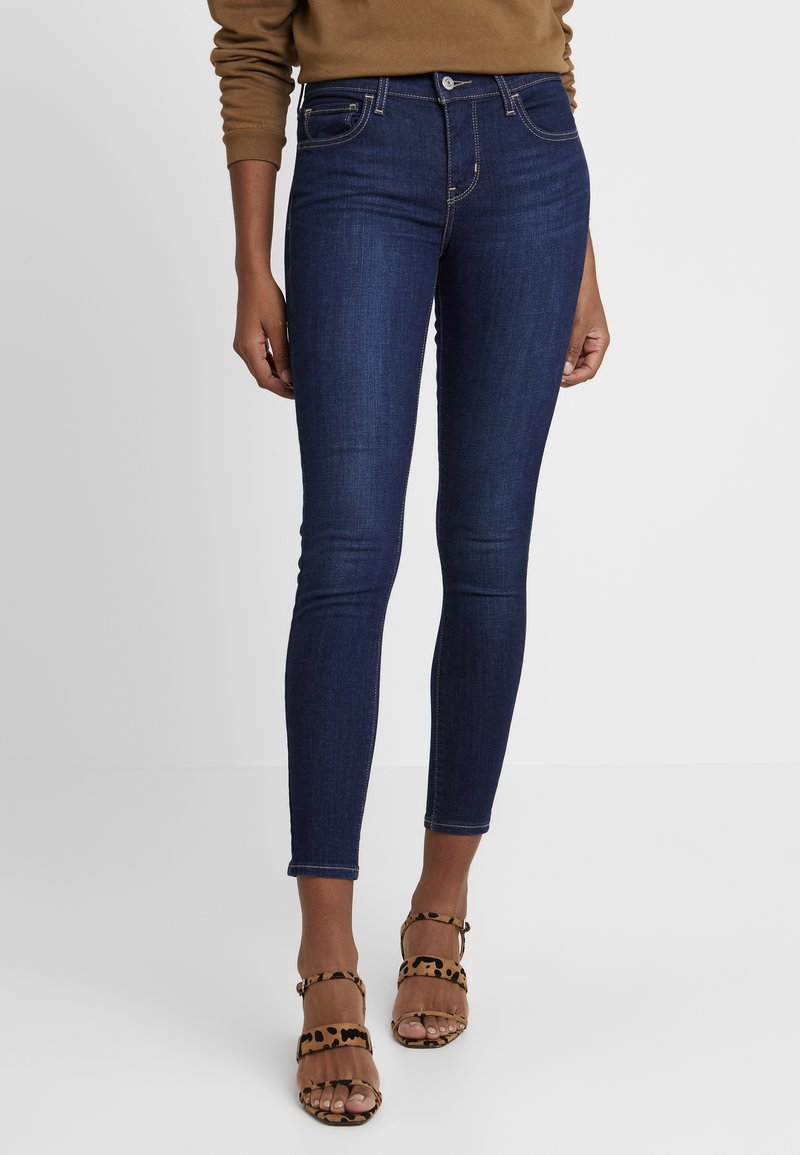 Levi's® - 710 SUPER SKINNYNOVELTY INDIGO T2 - Jeans Skinny Fit - med indigo - flat finish