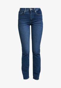 Levi's® - 724 HIGH RISE STRAIGHT PARIS FADE - Straight leg -farkut - med indigo - 4