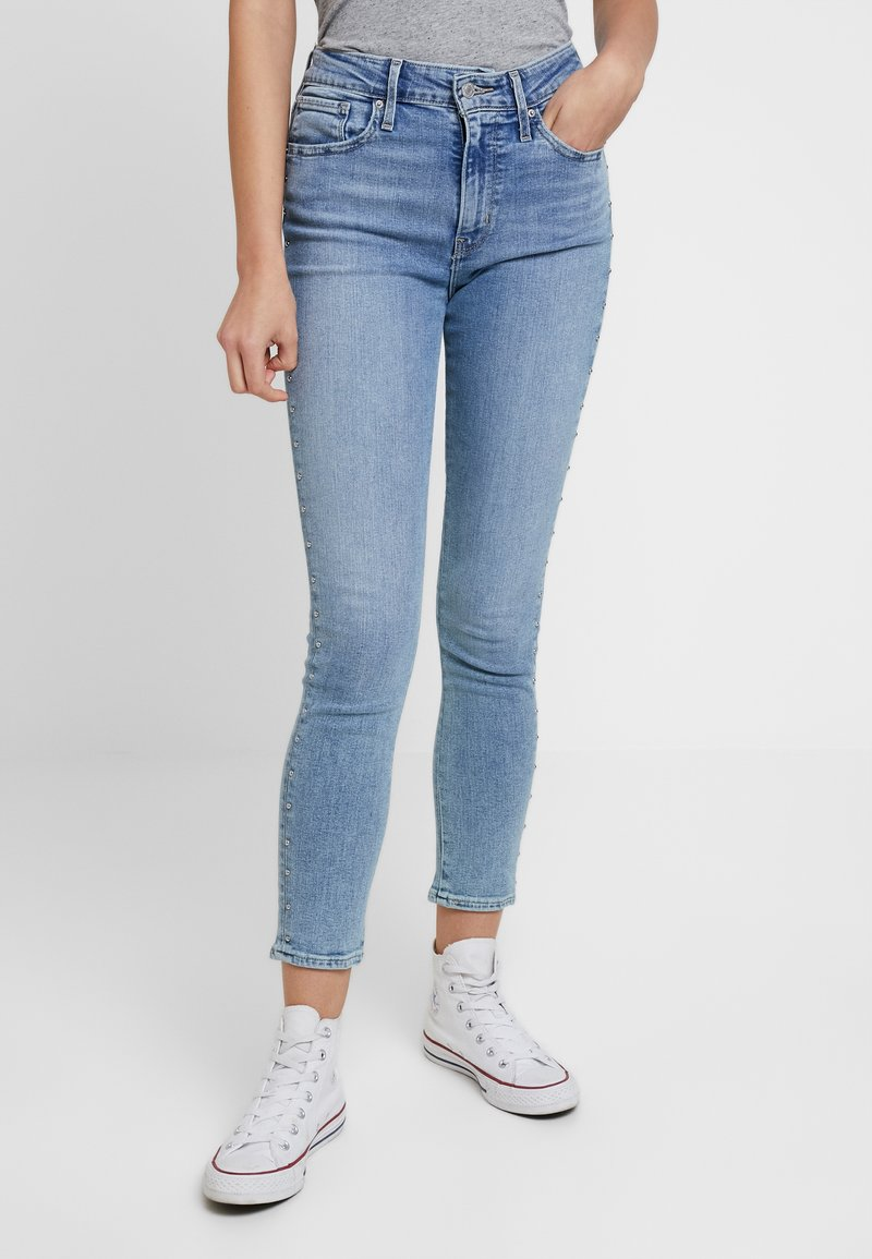 Levi's® - HI RISE SKINNY ANKLEBUCKLE DOWN - Jeans Skinny Fit - buckle down
