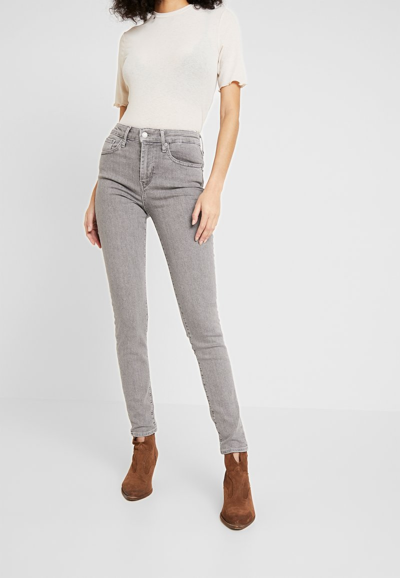 Levi's® - 721 HIGH RISE SKINNY - Jeansy Skinny Fit - set in stone