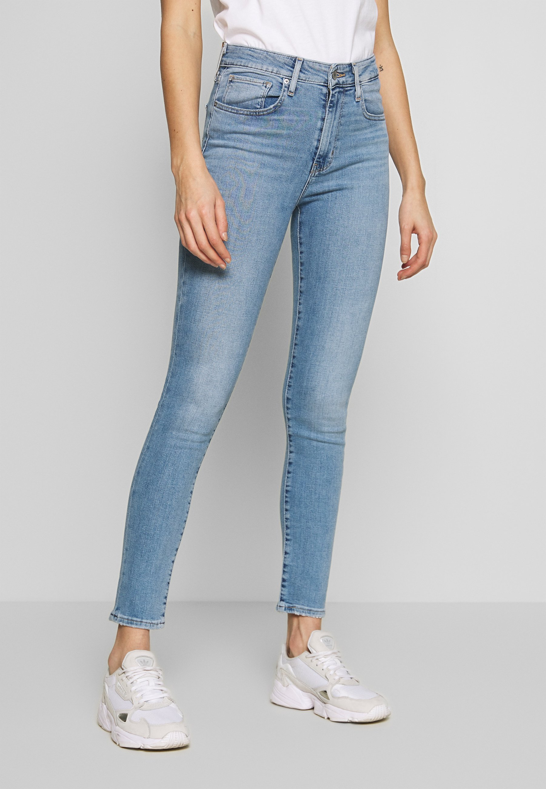 Levi's® 721 HIGH RISE SKINNY - Jeansy Skinny Fit - have a nice day