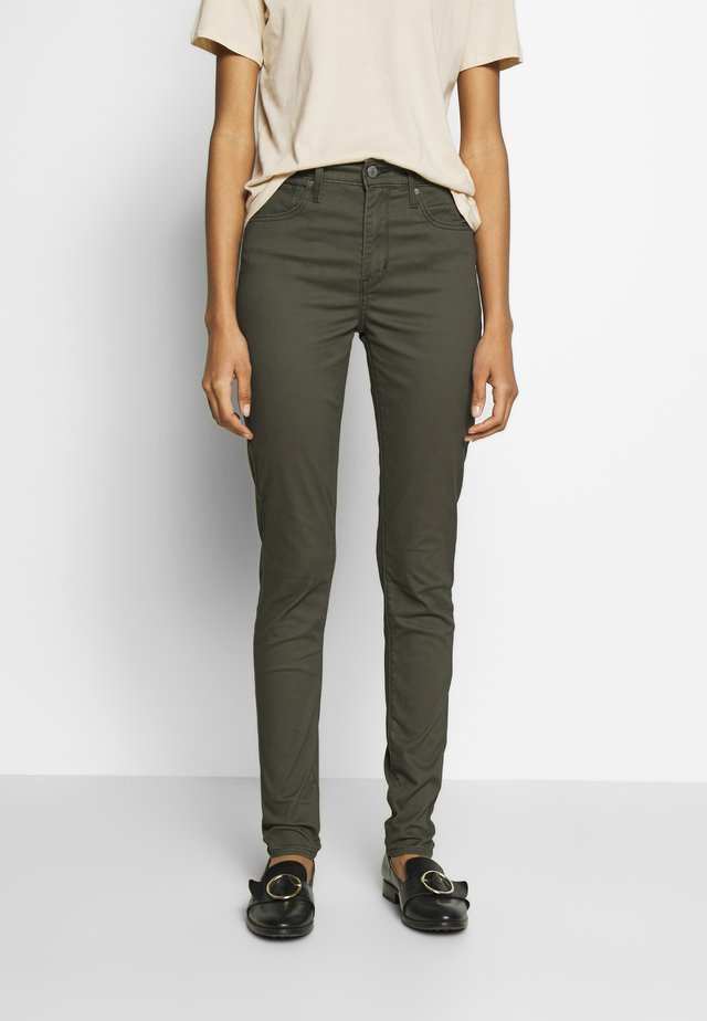 721 HIGH RISE SKINNY - Vaqueros pitillo - hypersoft t2 olive night