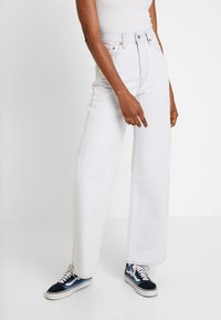 Levi's® - RIBCAGE WIDE LEG - Flared-farkut - cold ice - 0