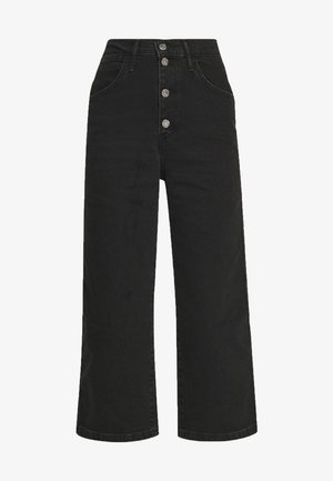MILE HIGH BUTTONS - Flared Jeans - dust and ash