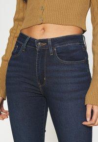 Levi's® - 725 HIGH RISE BOOTCUT - Jeans bootcut - dark-blue denim - 4