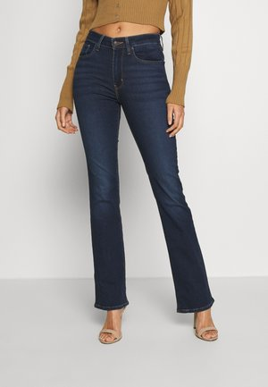 725 HIGH RISE BOOTCUT - Bootcut jeans - dark-blue denim