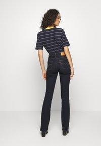 Levi's® - 725 HIGH RISE BOOTCUT - Jean bootcut - dark-blue denim - 2