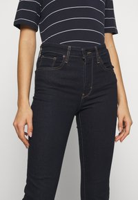 Levi's® - 725 HIGH RISE BOOTCUT - Jean bootcut - dark-blue denim - 3