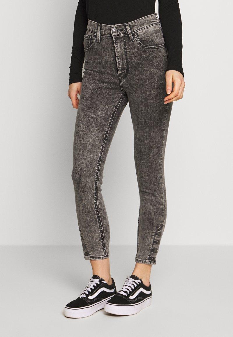 Levi's® - MILE HIGH ANK BUTTON HEM - Jeans Skinny - button on