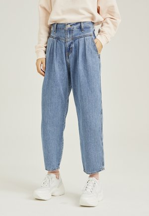 80'S BALLOON LEG - Relaxed fit jeans - light-blue denim