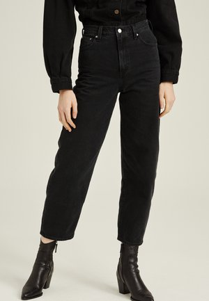 BALLOON LEG - Jean boyfriend - black