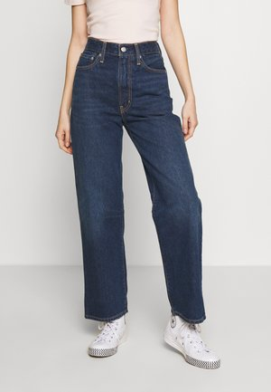 WLTRD RIBCAGE ANKLE - Straight leg jeans - ground swell indigo