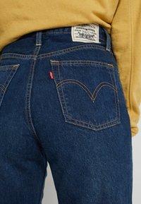 Levi's® - WELLTHREAD RIBCAGE ANKLE - Straight leg jeans - ground swell indigo hemp - 5