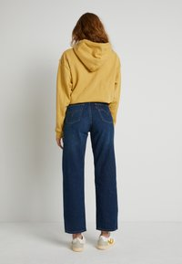 Levi's® - WELLTHREAD RIBCAGE ANKLE - Straight leg jeans - ground swell indigo hemp - 2