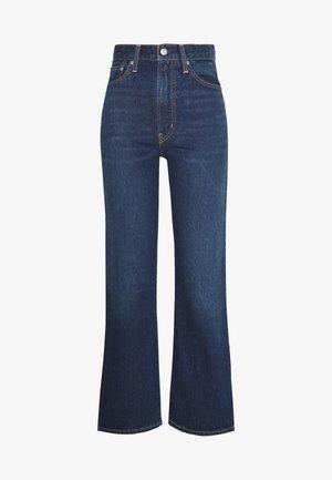 WELLTHREAD RIBCAGE ANKLE - Jeans straight leg - ground swell indigo hemp