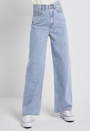HIGH LOOSE - Flared Jeans - middle road