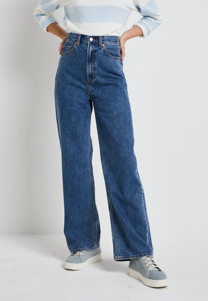 Levi's® - HIGH LOOSE - Relaxed fit jeans - now and then