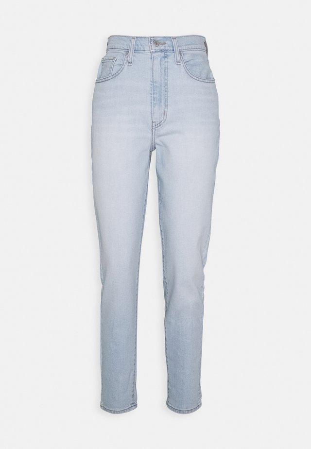 HIGH WAISTED TAPER - Jeans Straight Leg - light-blue denim