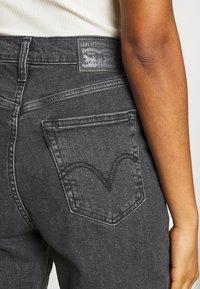 Levi's® - HIGH WAISTED TAPER - Jeans a sigaretta - black denim - 5