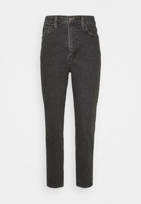 Levi's® - HIGH WAISTED TAPER - Straight leg jeans - black denim - 4