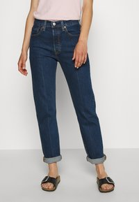 Levi's® - 501® CROP - Jeans slim fit - charleston pressed - 2