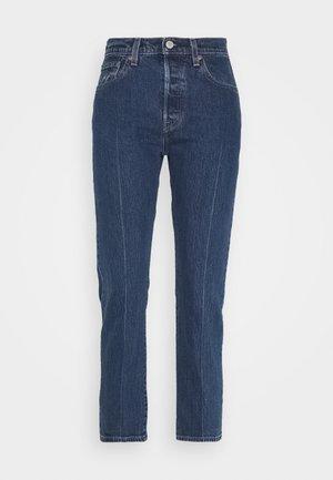 501® CROP - Slim fit jeans - blue denim