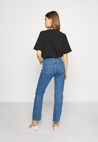 Levi's® - 501® CROP - Jeansy Slim Fit - sansome breeze stone - 2