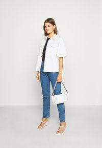 Levi's® - 501® CROP - Jeansy Slim Fit - sansome breeze stone - 1