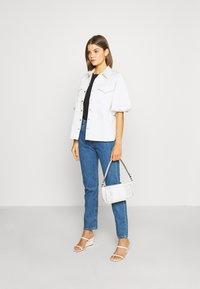 Levi's® - 501® CROP - Jeans slim fit - sansome breeze stone - 1