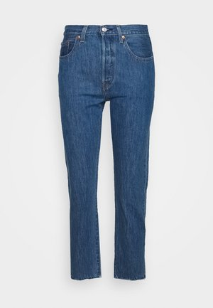 501® CROP - Jeans straight leg - sansome breeze stone