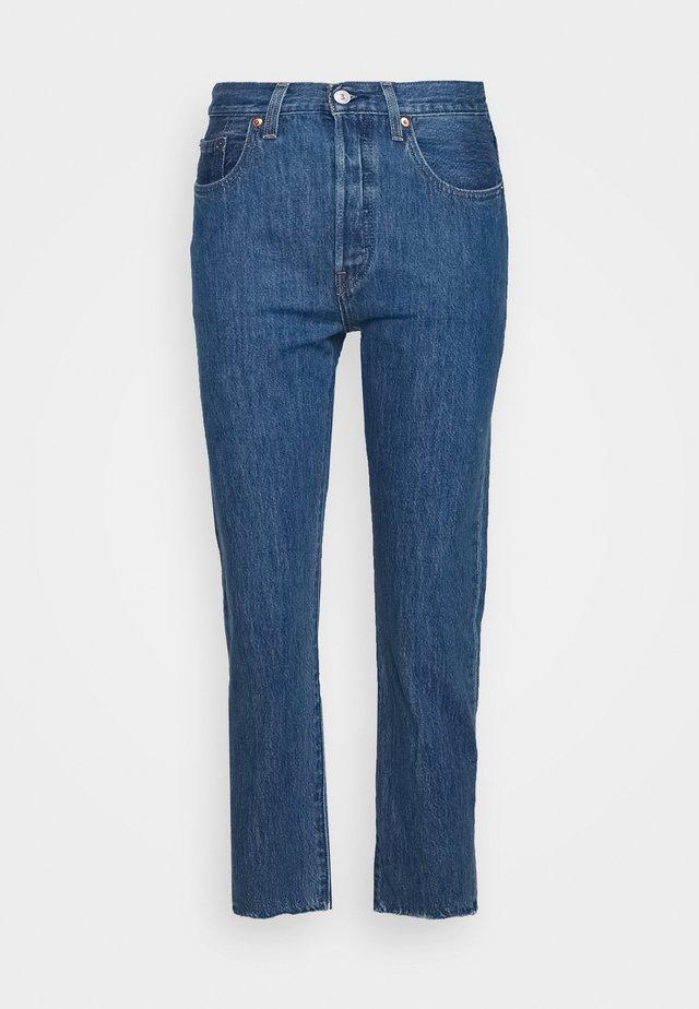 501® CROP - Jeans slim fit - sansome breeze stone