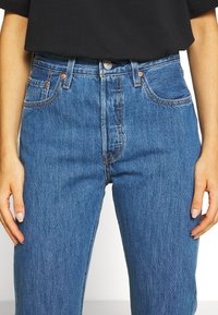 Levi's® - 501® CROP - Jeansy Slim Fit - sansome breeze stone - 3