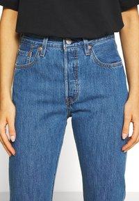 Levi's® - 501® CROP - Jeans slim fit - sansome breeze stone - 3