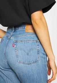 Levi's® - 501® CROP - Jeansy Slim Fit - sansome light - 5