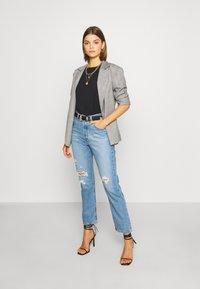 Levi's® - 501® CROP - Jeansy Slim Fit - sansome light - 1