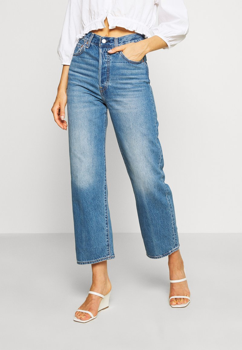 Levi's® - RIBCAGE STRAIGHT ANKLE - Straight leg jeans - at the ready