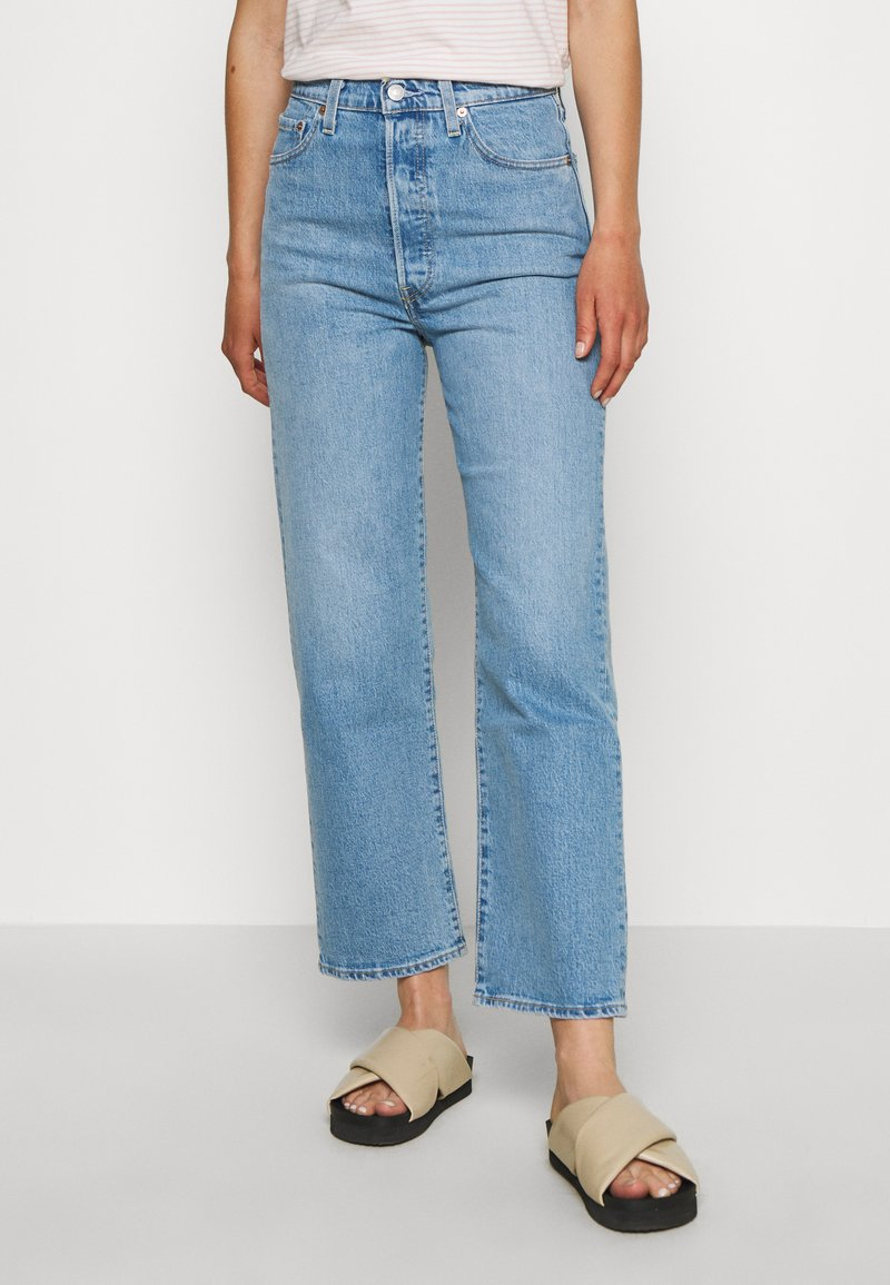 Levi's® - RIBCAGE STRAIGHT ANKLE - Straight leg jeans - tango gossip