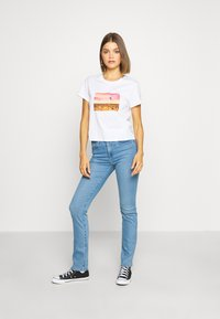 Levi's® - 724 HIGH RISE STRAIGHT - Jeansy Straight Leg - rio chill - 1