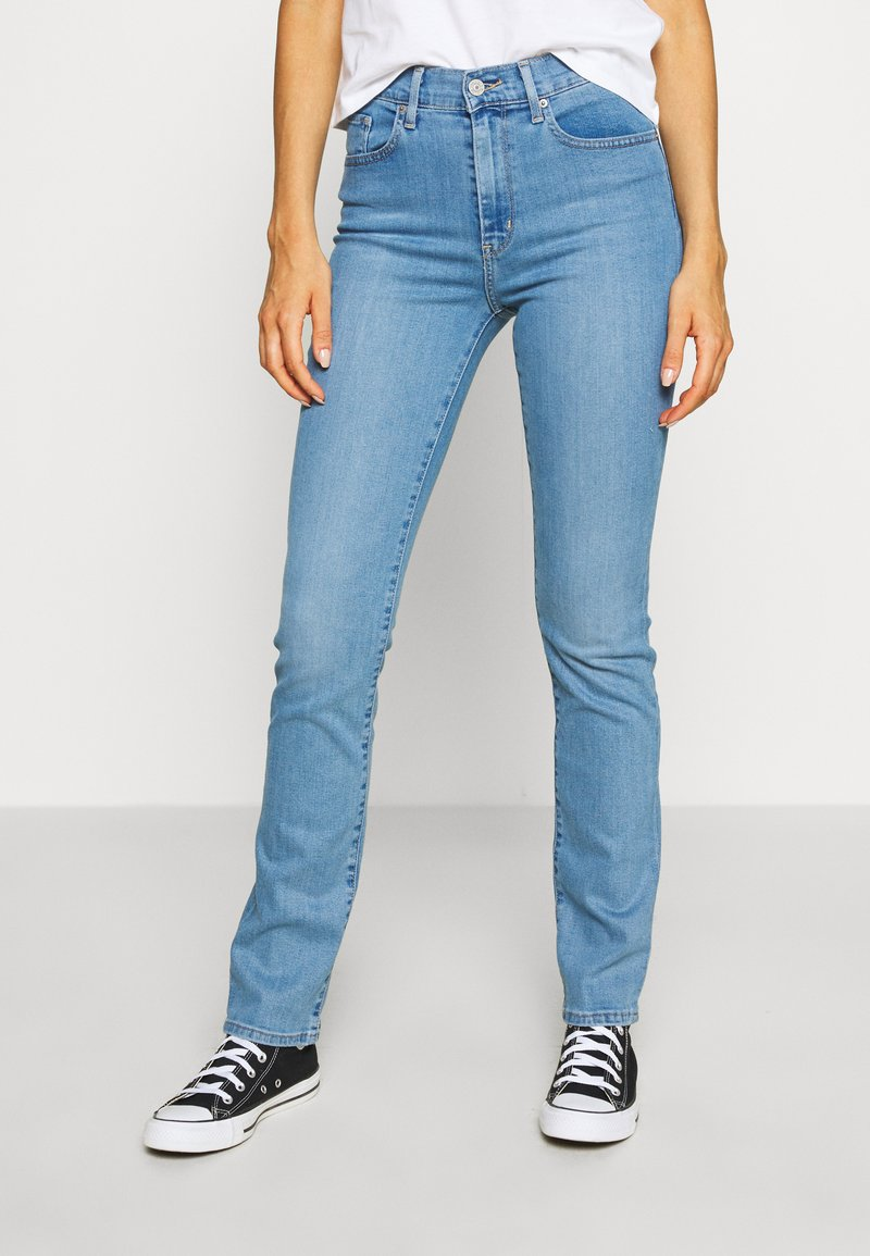 Levi's® - 724 HIGH RISE STRAIGHT - Jeansy Straight Leg - rio chill