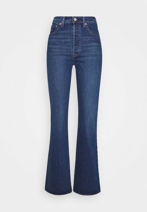 RIBCAGE BOOT - Bootcut jeans - turn up