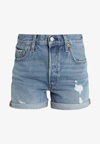 Levi's® - 501 SHORT LONG - Jeansshorts - highways + byways - 4