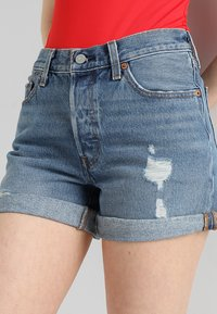 Levi's® - 501 SHORT LONG - Jeansshorts - highways + byways - 3