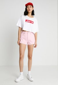 Levi's® - 501 HIGH RISE - Jeansshorts - light pink short - 1