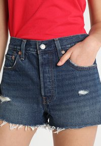 Levi's® - 501 HIGH RISE - Jeans Short / cowboy shorts - silver lake - 3