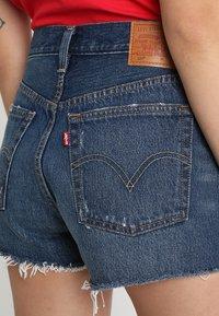 Levi's® - 501 HIGH RISE - Jeans Short / cowboy shorts - silver lake - 5