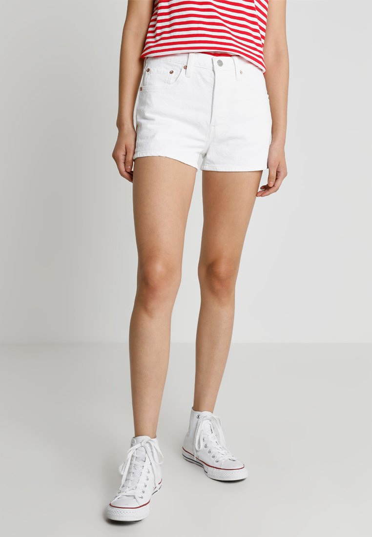 Levi's® - 501 HIGH RISE - Denim shorts - in the clouds